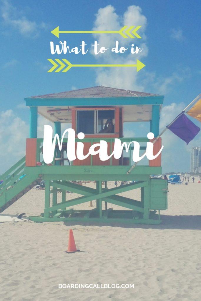 Miami South Beach What to do