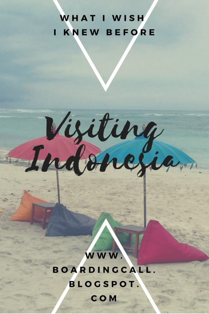 Know before visiting Indonesia