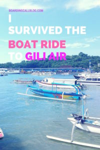 Gili Air Fast Boat ride