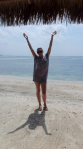 Celebrating on Gili Air