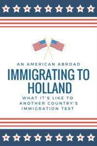 American in holland