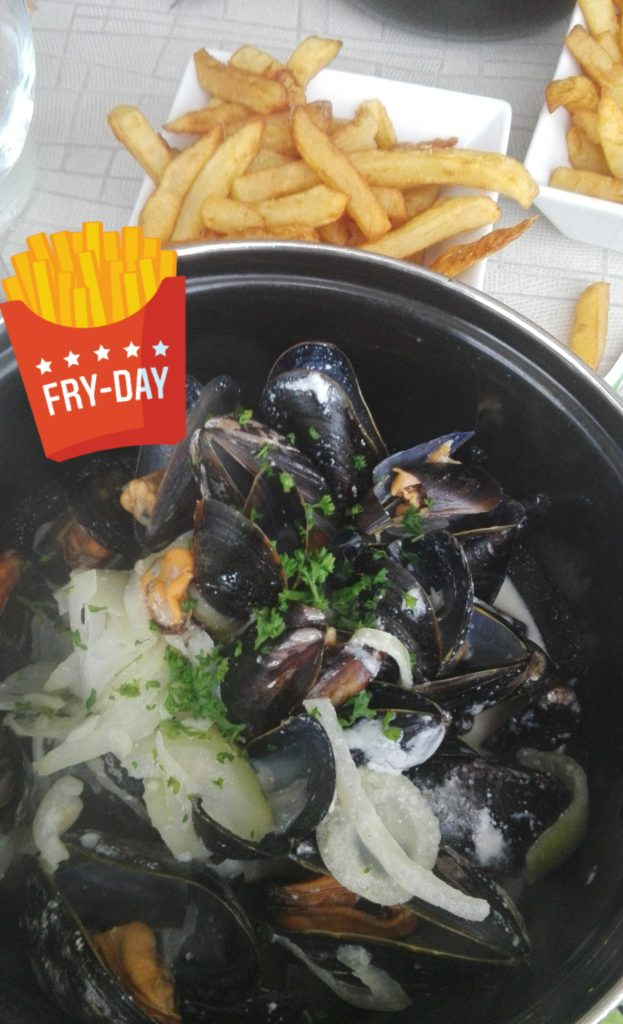 moules normandy