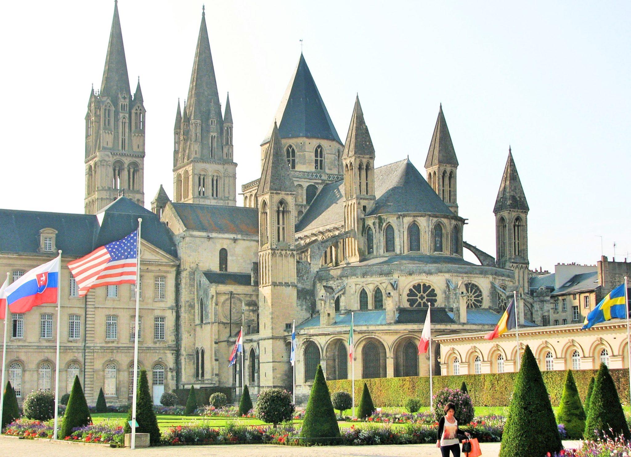 Abbey Caen Normandy