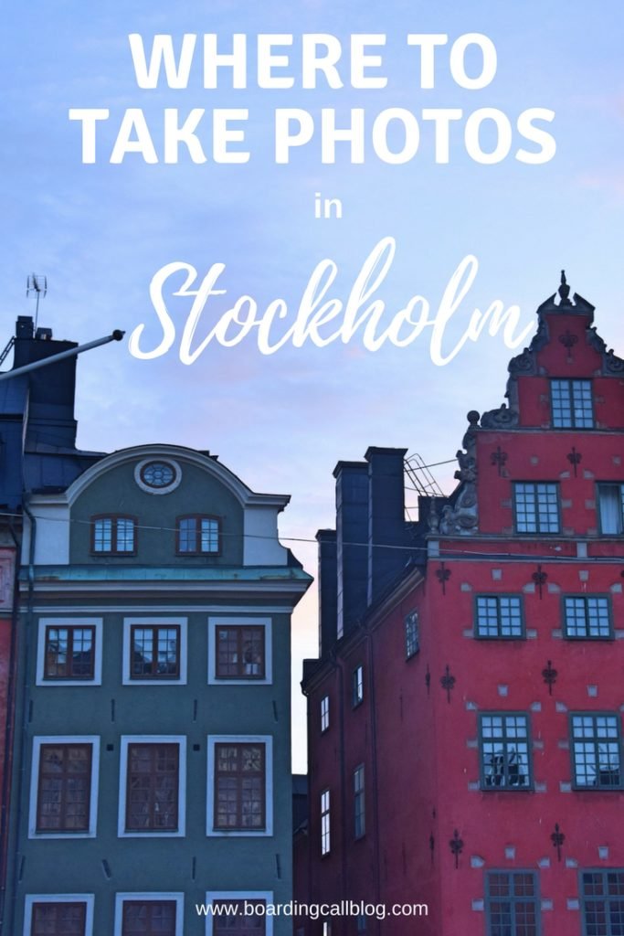 where to take photos in stockholm