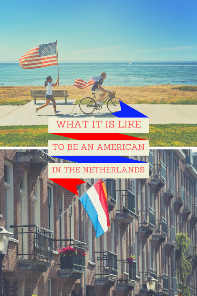 american in the netherlands
