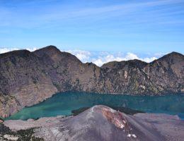Mt Rinjani caldera