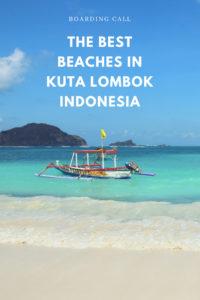 beaches in kuta lombok