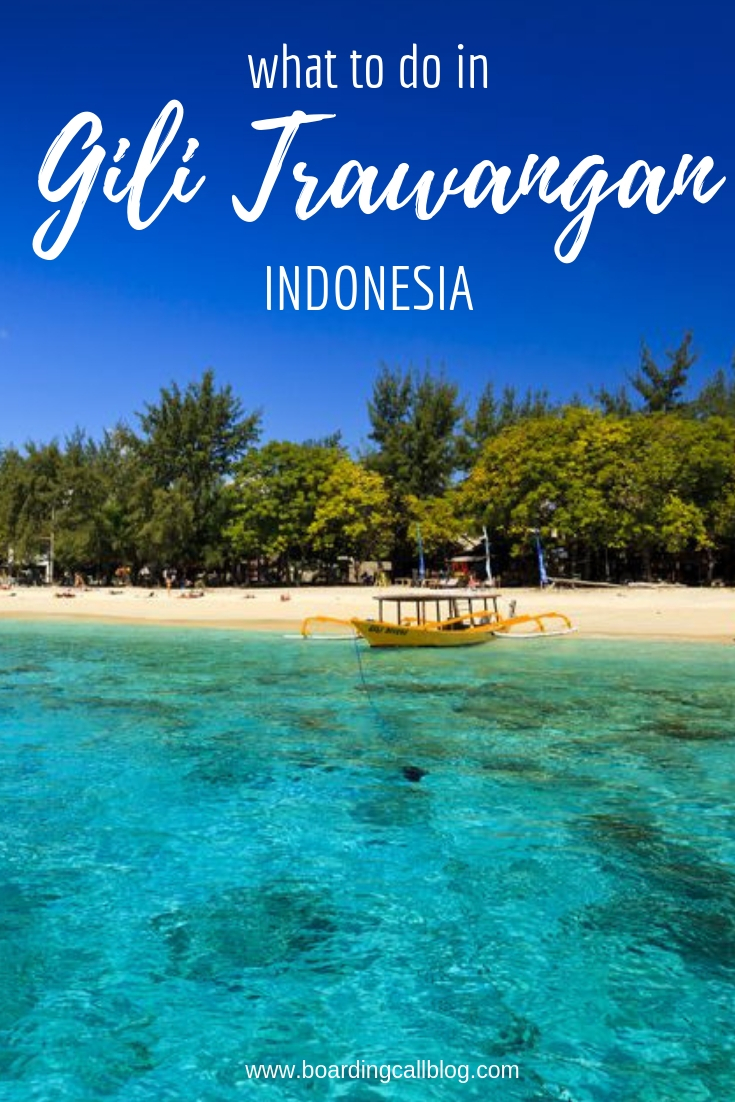 what to do in gili t
