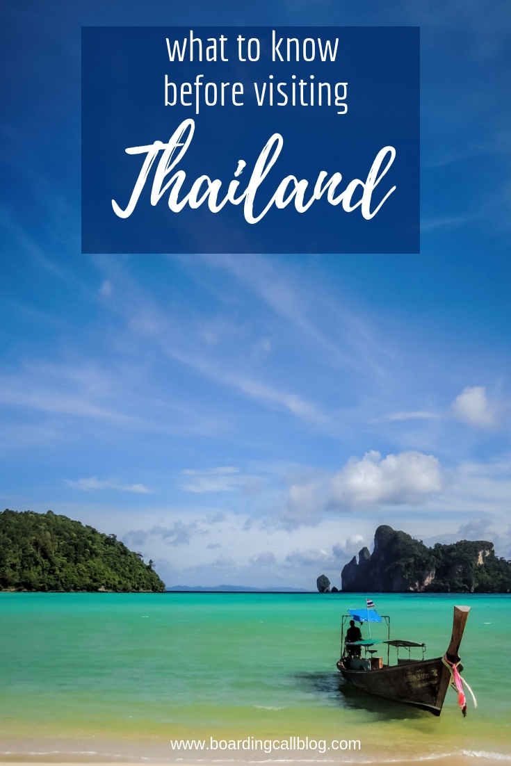 what to know before visiting Thailand