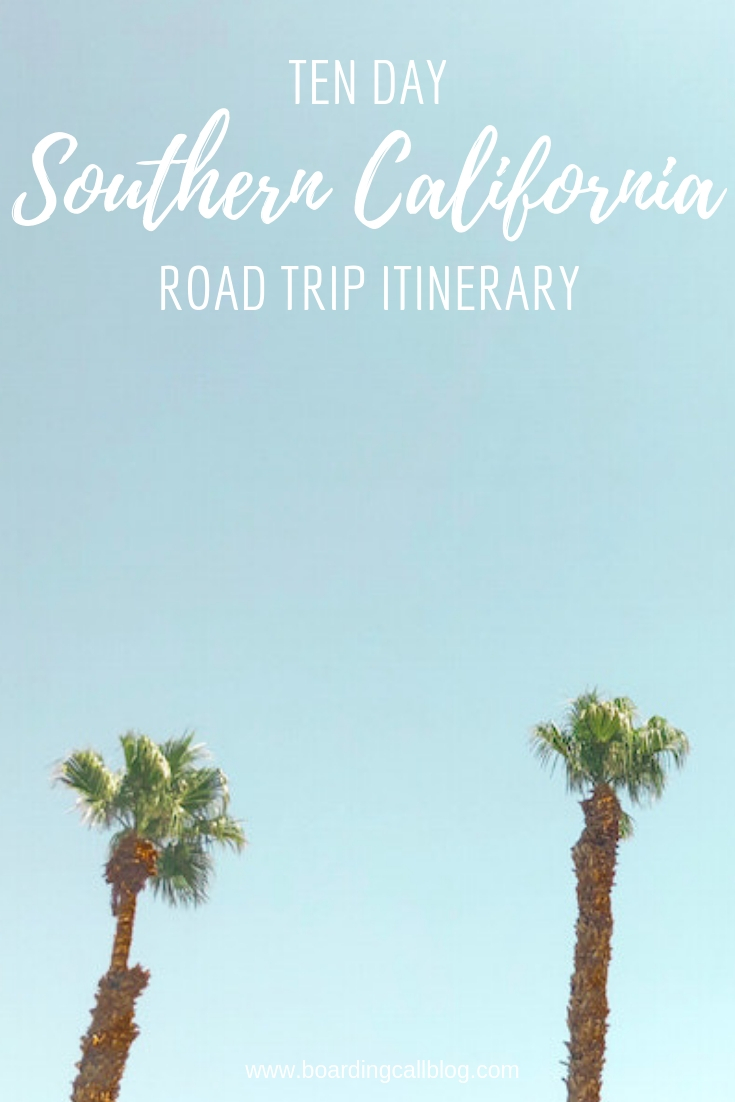 southern california road trip
