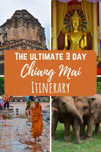 3 day Chiang Mai itinerary